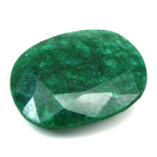 Rare Huge 629Ct Natural Brazilian Green Emerald Oval Shape Faceted Gemstone