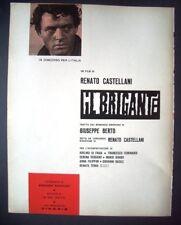 1961 Cinema Venezia IL BRIGANTE Adelmo Di Fraia Ierard
