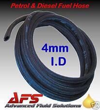 4mm 5/32 I.D PETROL DIESEL FUEL HOSE PIPE BRAIDED 73379