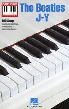 Piano Chord Songbook The Beatles J-Y Learn Play Piano Guitar Lyrics Music Book