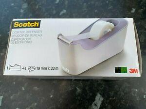 scotch desktop selotape dispenser plus 1 roll
