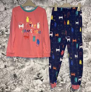 Girls Age 7-8 Years - Pyjamas From George