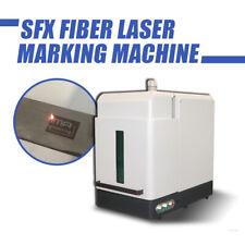 20W Laser Marker Fiber Laser Engraver Marking Machine Engraving with Enclosure