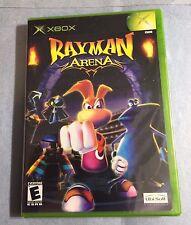 RAYMAN ARENA: XBOX, & XBOX 360 (Rare, 1-4 Players, 3pics) =NEW
