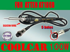 Solder SOLDERING STATION IRON for ATTEN AT100D SILICON WIRE 100W 5 holes OZ
