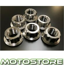 TITANIUM 12 POINT SPROCKET NUTS FITS HONDA CBR954 RR FIREBLADE 2002-2003
