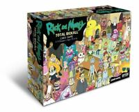Rick and Morty Total Rickall Cooperative Card Game Official UK