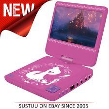 Lexibook DVDP 6DP Disney Princesa │ reproductor portátil de DVD USB Altavoz estéreo de 2.0 │ 2
