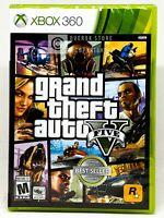 Grand Theft Auto V 5 - Xbox 360 - Brand New   Factory Sealed