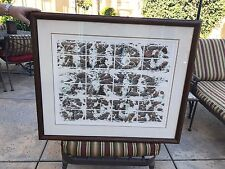 ' Hide and Seek ' by Bev Doolittle Signed, Numbered w/ Papers FRAMED PRINT