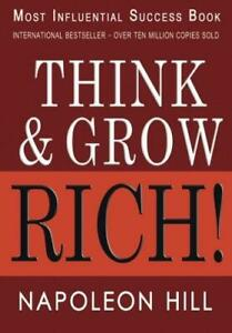 Think and Grow Rich (Paperback) by Napoleon Hill - #1 International Best Seller