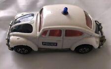 Corgi Toys Diecast Volkswagon Police Car 1200 Saloon Whizzwheels 1969