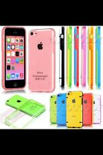 For Iphone 5C Clear Hard Case Transparent Thin Durable