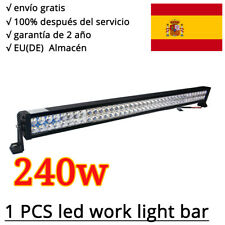 240W LED Luz Barra Reflector Lámpara De Inundación Trabajo OFFROAD camioneta 12V