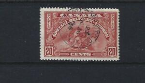 Canada 1935  Special Delivery #E6 Carmine  20c  Used  F/VF