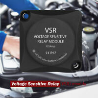 Voltage Sensitive Relay Smart VSR Auto Charging 12v 125amp Dual Battery Isolator
