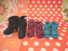 Doll shoes ~ 3PAIRS LIV Doll Shoes Sandal Boot NEW #LS-702