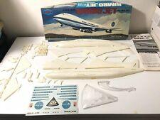 "AURORA PAN-AM BOEING 747 ""JUMBO JET"" KIT #361-250 ORIGINAL 1968 ISSUE"