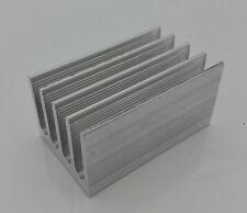 Aluminium Kühlkörper Alu 50 x 30 x 25,7mm