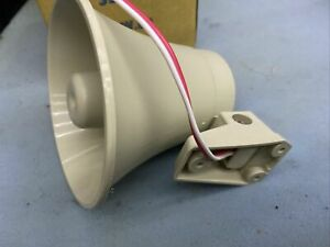Horn Speaker SSH-55. 15w 8ohm. Cream Coloured. Boxed. Brand New