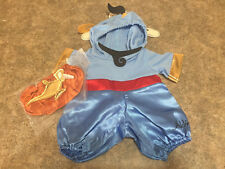 NEW! Build A Bear Workshop Disney ALADDIN Genie Costume Outfit + Lamp & Shoes