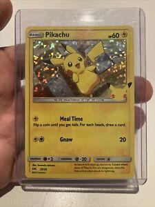 NEW! 2021 Pokémon PIKACHU HOLO CARD McDonalds Happy Meal Toy Holographic 25/25