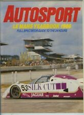 Autosport 1986 LE MANS YEARBOOK - Teams & Cars & Drivers