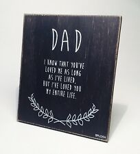 Splosh Dad Poem Fathers Day & Birthday Gift Ideas for Him VIN050