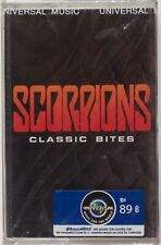SCORPIONS: Classic Bites SEALED Thailand Import Cassette Tape Heavy Metal