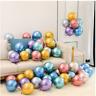 "Latex BALLOONS Chrome METALLIC 10"" LATEX PEARL Balloon Birthday Party Decoration"