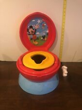 Mickey And Friends Potty Chair Toilet Training 3 in 1 Baby Kids Toddler Hip Hip