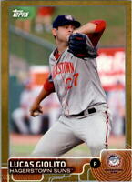 2015 Topps Pro Debut Gold #75 Lucas Giolito - NM-MT