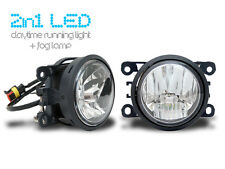 2 in 1-LED Tagfahrlicht + LED Nebelscheinwerfer-Tagfahrleuchte TFL Citroen Dacia