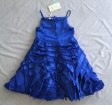 Blue Polyester All Seasons Baby Girls' Dresses