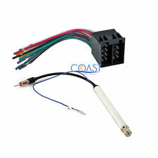 Car Radio Stereo Wiring Harness Antenna Adapter for 1994-2010 Audi Volkswagon
