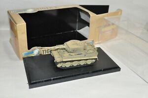 1/72 scale die cast military artillery Dragon Armor Tiger I German tank