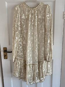 Zimmermann White Embroidered Dress
