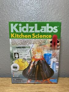 KidzLabs Kitchen Science Kit Educational Toys Fun Experiments for Children 4M