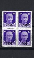 Italy 1943 Sc# M7 Military Post 50c PM block 4 MNH