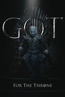 Game of Thrones - Staffel 8 - Night King, The  - Film - Poster - Größe 61x91,5