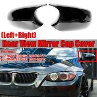 Noir Brillant Miroir Couverture Pour BMW 3 series E90 E91 2008-2011 E92 E93 LCI