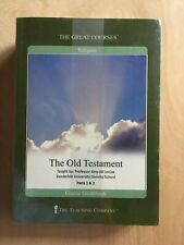"""The Great Courses: """"The Old Testament"""" 4 Disc DVD Set + Coursebook NEW"""
