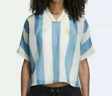 Adidas Originals Womens Argentina Layered T-Shirt Jersey Size Medium Messi 90$