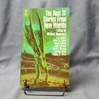 The Best SF Stories From New Worlds 1 - Michael Moorcock  - Vintage SciFi Book