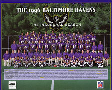 1996 BALTIMORE RAVENS FIRST INAUGURAL SEASON TEAM  8X10 PHOTO PICTURE