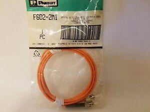 Panduit F6D2-2M1 Optical 62.5/125μm Multimode Fiber Patch Cords ST-ST F6D2-2M1Y