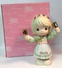 2006 Precious Moments Christmas Ornament Ringing In The Season Bell #610001