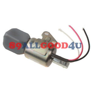 12V Stop Solenoid 7000782 for Bobcat Excavator 418 E08 E10 E17 E19 E20