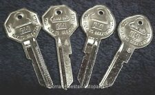 (4) New Key Blanks With GM Logo Fit All 1967 GM Oldsmobile & Cutlass Models