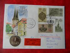 Numisbrief E Brief 750 Jahre Berlin nach Wermsdorf